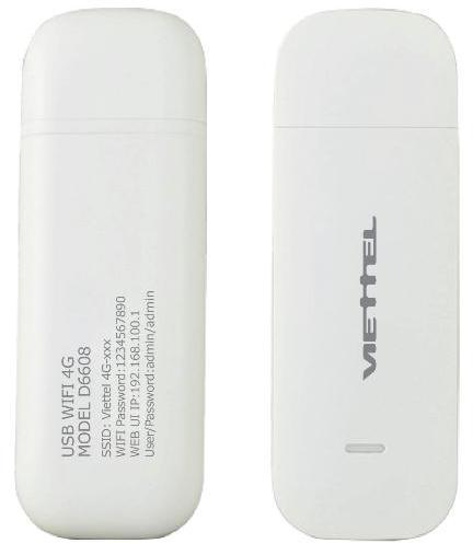 USB 4G WiFi Router Viettel D6608